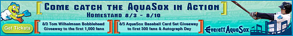AquaSox Baseball ad